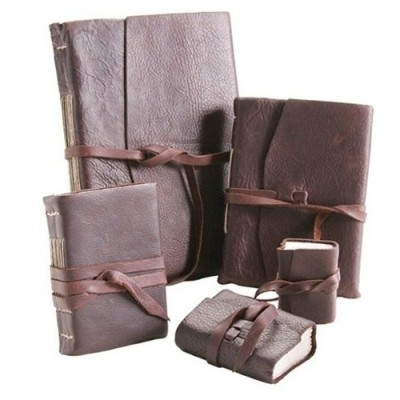 Leather Journals with Amalfi Paper
