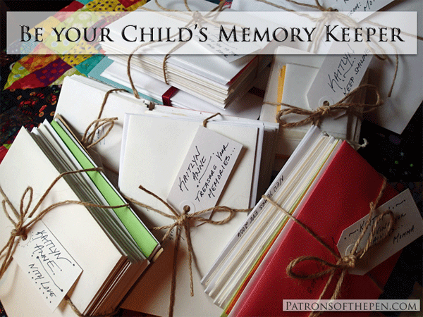 Memory Keeping for your children